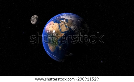 NASA Earth - stock photo