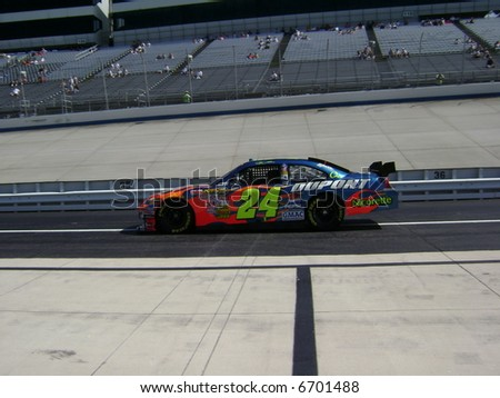 nascar`s race car driver jeff gordon - stock photo
