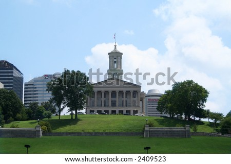 Nashville Tennessee state capitol building