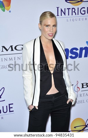 Natasha Bedingfield at music mogul Clive Davis' annual pre-Grammy party at the Beverly Hilton Hotel. February 9, 2008  Los Angeles, CA Picture: Paul Smith / Featureflash
