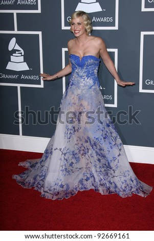 Natasha Bedingfield  at the 53rd Annual Grammy Awards, Staples Center, Los Angeles, CA. 02-13-11