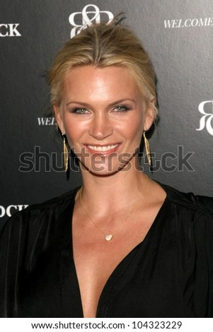 Natasha Henstridge at the Rock and Republic Robertson Store Opening Party. Rock and Republic, Los Angeles, CA. 06-11-09