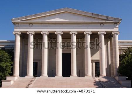 Nationa Museum of Art in Washington DC - stock photo