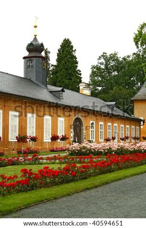 National chateau Kozel - stock photo