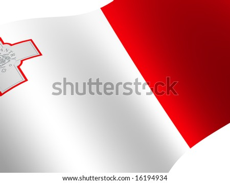 National Flag. Malta