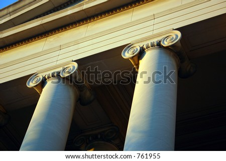 national gallery of art (west wing) detail of columns
