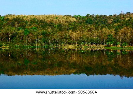 national park in Saraburi,Thailand. - stock photo