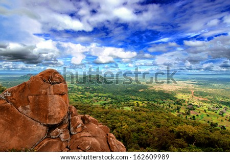 National Park Niokolo Koba in Senegal - stock photo