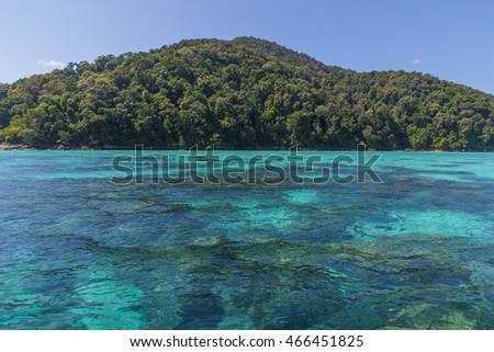 national park surin island