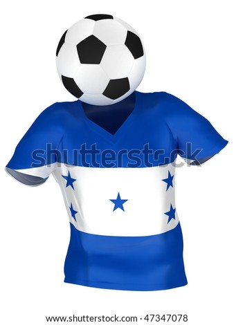 National Soccer Team of Honduras | All Teams Collection | - stock photo