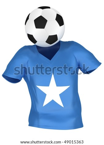 National Soccer Team of Somalia | All Teams Collection | - stock photo