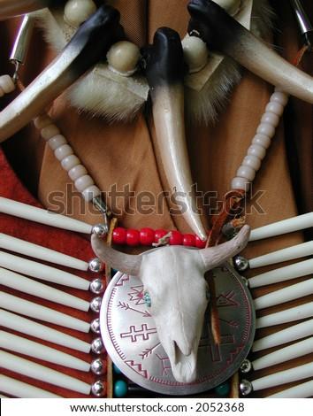 Native Costume - stock photo