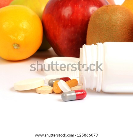 Natural and synthetic vitamins and drugs