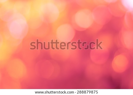 Natural background blurring.warm colors and bright sun light. bokeh background or Christmas background.Green Energy. - stock photo