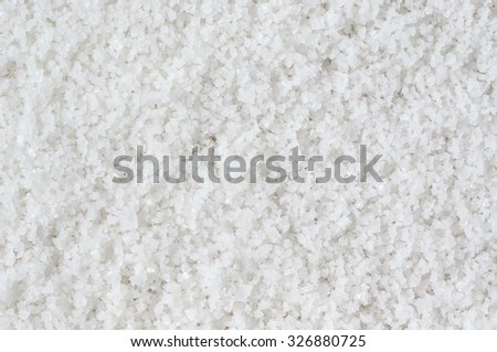 Natural bath salt image for background - stock photo