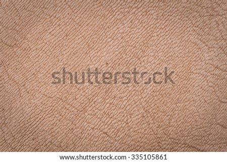 Natural beige leather surface