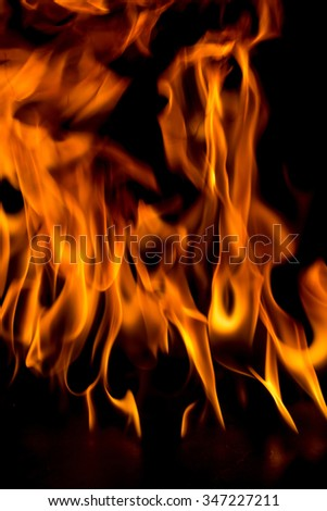 Natural blaze fire flame texture background