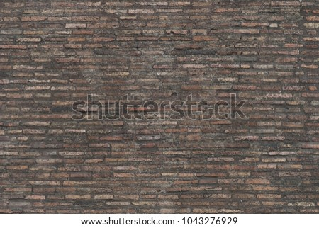 Natural brick background