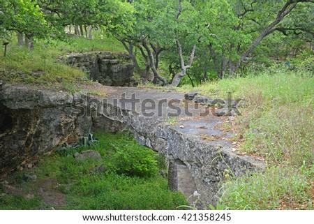Natural bridge caverns at San Antonio,Texas - stock photo