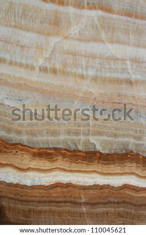 natural brown granite texture, layer - stock photo