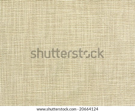 Natural canvas texture. - stock photo