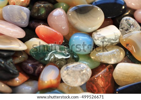 natural color gems texture as nice background