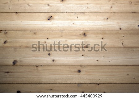 natural color image of raw wooden background  - stock photo