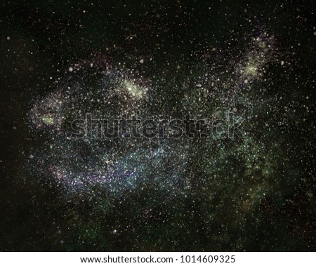 Natural cosmos background