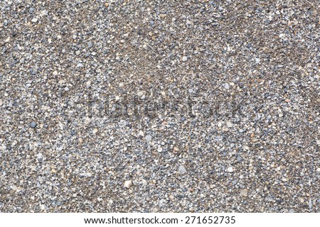 Natural detail and background of brown soil  - stock photo