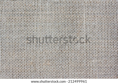 Natural fabric background - stock photo