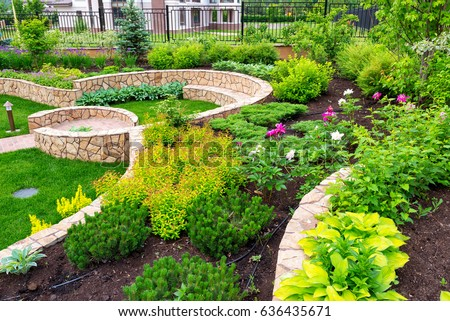 Home Garden Pictures landscaping stock images, royalty-free images & vectors | shutterstock