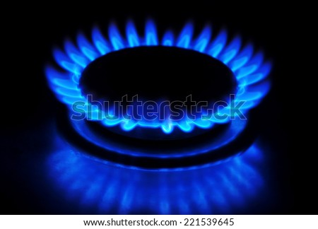 Natural gas - stock photo