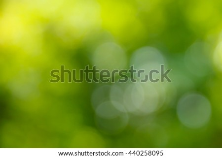 Natural green background.