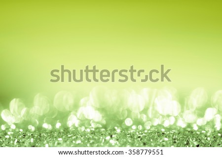 Natural green light abstract background.