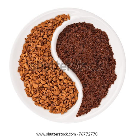 what is ground coffee and instant coffee