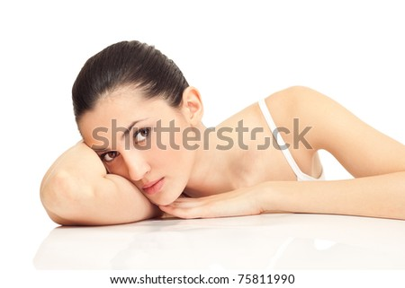 brunette pige beauty clinic holbæk