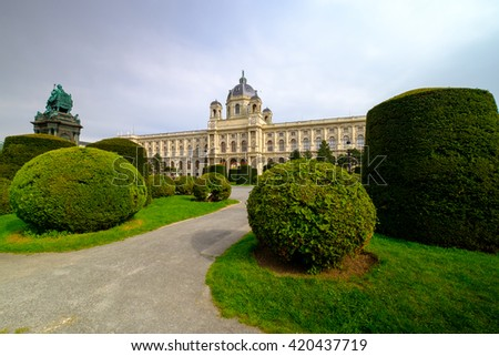 Natural History Museum, Vienna, Austria - stock photo