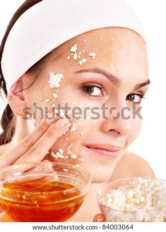 Маски для жирной кожи лица из овсянки