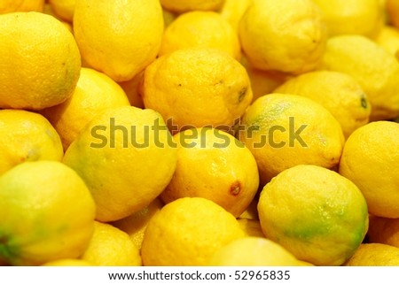 Natural lemon  for good juice