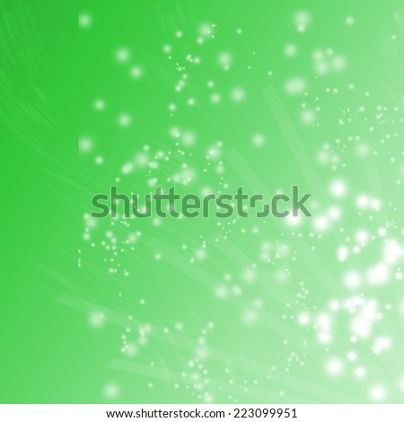 Natural light with glowing bokeh orbs and shiny sparkles - stock photo