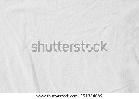 Natural linen background./White Textile.