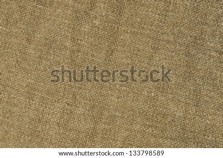 Natural linen fabric texture background