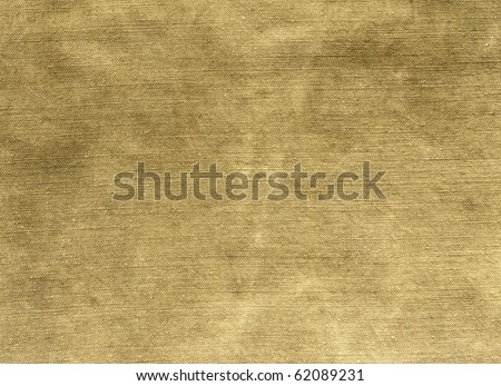 Natural linen striped stained textured sacking burlap grunge background - stock photo