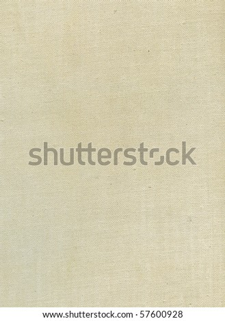 Natural linen striped uncolored textured sacking burlap background - stock photo