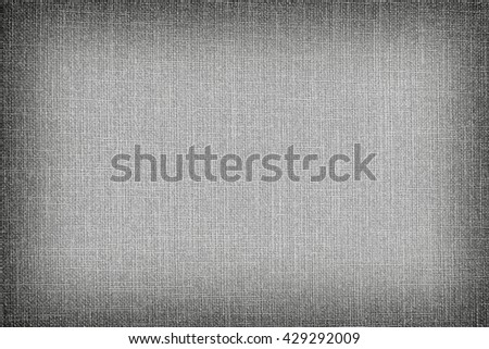 natural linen texture for the background. Gray  linen color. - stock photo