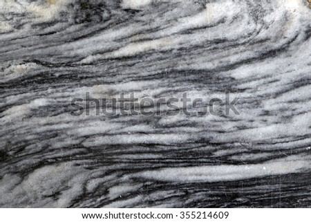 Natural marble black and white patterned texture background for design