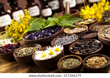 Natural medicine  - stock photo
