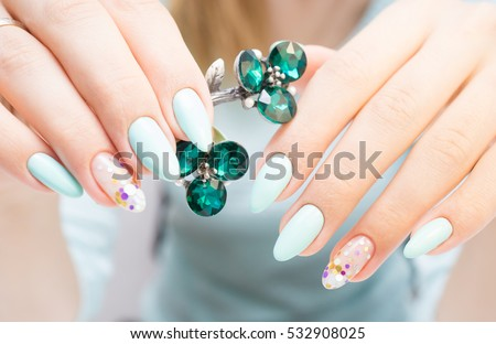 Nails stock images royalty free images vectors shutterstock natural nails gel polish perfect clean manicure with zero cuticle nail art design prinsesfo Choice Image
