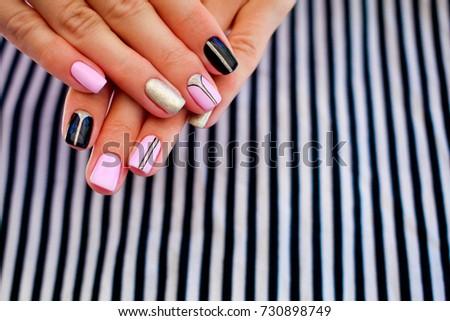 Nailpolish stock images royalty free images vectors shutterstock natural nails gel polish stylish nails nailpolish nail art design for the prinsesfo Choice Image