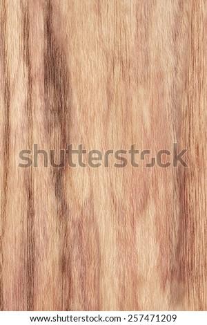 Natural Oak Wood Veneer Blotted Mottled Grunge Texture - stock photo